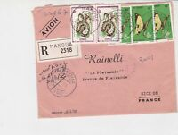 republique populaire du congo 1971 airmail snake/butterfly stamps cover ref20119