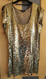 Silver Sequined Top - Star by Julien Macdonald. Size 14