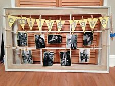 HAND CRAFTED PHOTO ANDCARD HOLDER BEAUTIFULLY MADE WHITE PINE WOOD