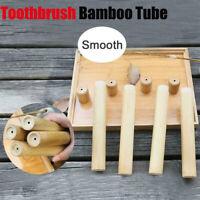 Manche Type écologique Boîte de brosse à dents Outil en bois Portable Bambou