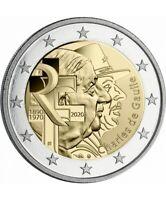 France 2 euro 2020 - Charles de Gaulle UNC