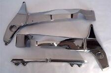 Suzuki 2001-2002 GSXR 1000 Chrome Frame Covers & Chrome Sub-Frame Covers COMBO