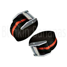2 CAM STRAPS BUCKLE TIE DOWN LASHING ROOF RACK TRAILER CARGO 25MM X 2.5M LONG 25