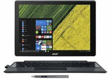 "Acer 2 in 1 Switch Alpha 12"" QHD Touch Intel i3-6100U 4GB RAM 128GB SSD Win 10"