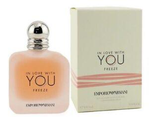 IN LOVE WITH YOU FREEZE * Emporio Armani 3.4 oz / 100 ml Eau De Parfum Women