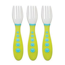 'Gerber Graduates Kiddy Cutlery' from the web at 'https://i.ebayimg.com/thumbs/images/g/OBkAAOSwuspY9eCZ/s-l225.jpg'