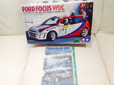 Tamiya TL-01 Instruction Manual - Ford Focus WRC & Empty Box