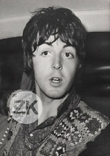 PAUL McCARTNEY Pop BEATLES Split Hippie Photo 1970