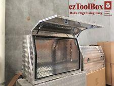 1200Lx550Wx800Hmm Full Side Opening Ute Truck Trailer Tool Box Aluminium Toolbox