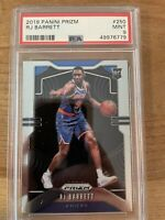 2019-20 Panini Prizm PSA 9 RJ Barrett ROOKIE CARD RC #250 PSA 9 MINT Knicks RC