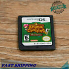 Animal Crossing: Wild World Nintendo DS Game Card for DS / DSi / 3DS XL US Gift