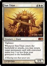 MTG 1x SUN TITAN - M11 *Promo Prerelease DEUTSCH GERMAN FOIL NM*