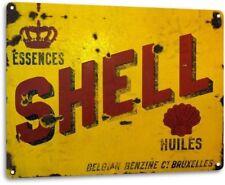 Shell Oil Gas Station Service Garage Retro Vintage Wall Decor Metal Tin Sign