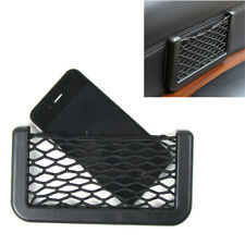 1x Auto Car Interior Body Edge ABS Elastic Net Storage Phone Holder Accessories