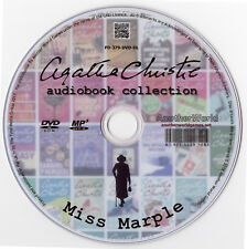 Agatha Christie Miss Marple Audio Books 72 Title Mega Collection MP3 DVD Talking