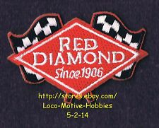 LMH PATCH Badge  RED DIAMOND COFFEE TEA Sponsorship  INDY GRAND PRIX Race Racing