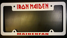 IRON MAIDEN LICENSE PLATE FRAME MAIDENFAN !!!