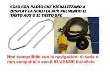 KIT Cavo 1,4mt AUX Mp3 Alfa 159 e Fiat 500 Grande Punto Panda Croma Lancia Musa