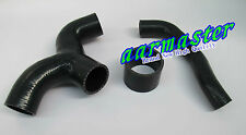 Subaru WRX GDB top mount intercooler silicone Y-pipe hose kit 3pcs Black