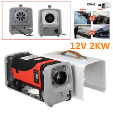 2KW 12V Upgrade Car Truck Trailer Air Diesel Heater LCD Thermostat+LCD Switch
