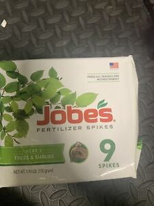 Jobes Tree & Shrub Fertilizer Spikes, 9 Spikes