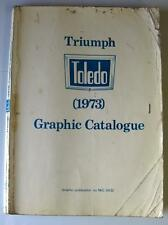 TRIUMPH TOLEDO - Car Parts List - 1973 - #NKC.0432