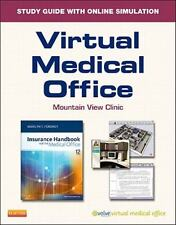 MARILYN FORDNEY Virtual Medical Office for Insurance Handbook FREE SHIPPING,NEW