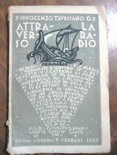 ATTRAVERSO LA RADIO INNOCENZO TAURISANO libreria FERRARI 1937 XILO G. PIANIGIANI