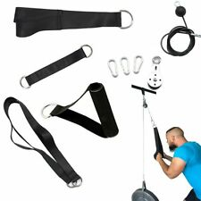 Fitness Diy Gym Pulley Cable Machine Attachment System Loading Pin Lifting