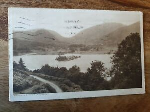 GRASMERE FROM REDBANK POSTCARD 1929