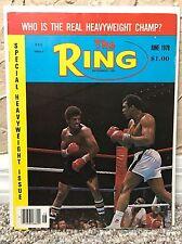 THE RING BOXING VINTAGE MAGAZINE MUHAMMAD ALI LEON SPINKS June 1978 MINT UNREAD