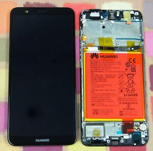GENUINE BLACK HUAWEI P SMART FIG-LX1 IPS LCD SCREEN DISPLAY FRAME