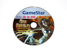 2004 Gamestar DVD Arx Fatalis Seven Kingdoms 2 The Elder Scrolls Arena Demo Vids