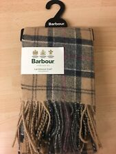 Mens Barbour Scarf - Dress Tartan Lambswool 1sze