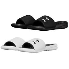 Under Armour Playmaker Childrens Kids Boys Girls Slides Sliders Swimming Sandals