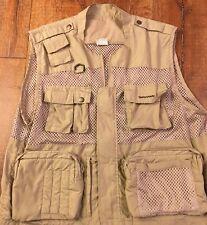 Quantaray Fishing/Hunting/Photography Vented Khaki Vest Size XL