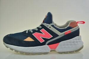 New Balance 574 Navy Pink GS574SN Women's Trainers Size UK 5.5