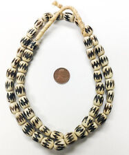 Beautiful Strand Batik African Kenya Bone ~Trade Beads