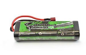 7.2V 3600MAH NIMH Battery Stick Pack With Deans Tornado RC