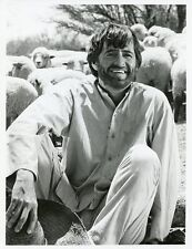 Henry Darrow Smiling Sheep The High Chaparral Original 1967 Nbc Tv Photo
