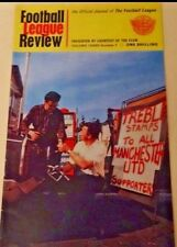 FOOTBALL League Review Volume THREE Number 1. Features Man United winning Europe