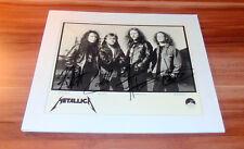 Metallica, original signed Photo 20x25 cm (8x10) FULL BAND !!