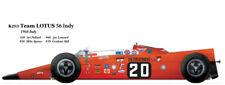Model Factory Hiro K263 1:20 Lotus 56 '68 Indy #20 #30 #60 #70 Fulldetail Kit