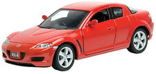 New Motormax - Mazda RX-8 Red Die Cast Model 1:24 - 73323