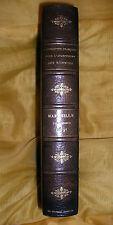 MARSEILLE-L'AVANCEMENT DES SCIENCES MARSEILLE 1891-LIVRE ANCIEN XIX ème-