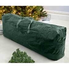 Custodia Sacco Porta Albero di Natale con Cerniera Manici Plastica 102x18x16,5cm
