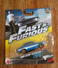 Mattel Hot Wheels Fast & Furious 1970 Ford Escort RS1600 MK1 1:55 Scale #6 of 32