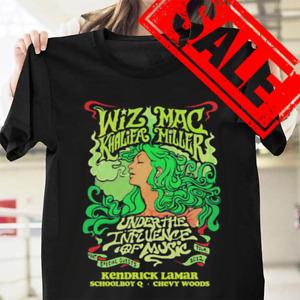 Mac Miller Wiz Khalifa Cotton Black Men All Size Men T-shirt E875