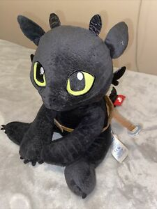 """Build a Bear Toothless Dragon with Saddle from Dragons Dreamworks 13"""""""