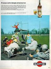 ▬► PUBLICITE ADVERTISING AD MARTINI & ROSSI 1959